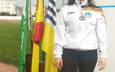 ANABEL SANTANA SUBCAMPEONA DE ANDALUCIA EN LANZAMIENTO DE MARTILLO